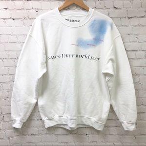 Ariana Grande Sweetner Tour Crewneck Sweatshirt